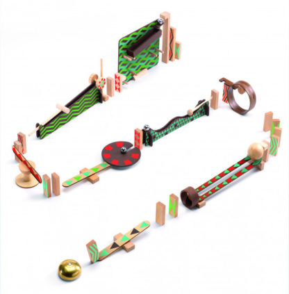 Dominová dráha Zig & Go - 48 ks