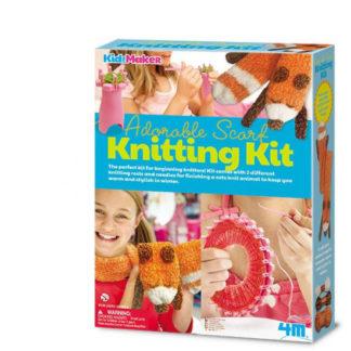 Pletení šály - liška