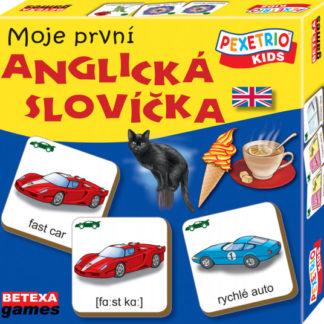Pexetrio kids - Moje první anglická slovíčka