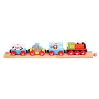 Bigjigs -  Vlak se zbožím