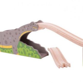 Bigjigs dino -  Dinosauří most
