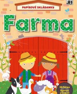 Farma - papírové skládanky