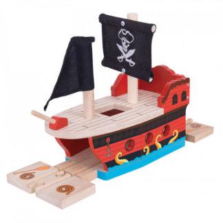Bigjigs - Pirátská galéra