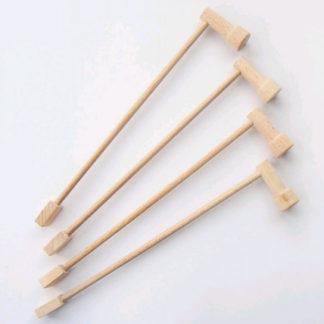 Marionetino - Tyčky k loutkám s ramínkem - univerzální 4 ks