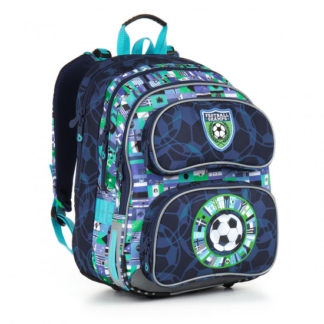Školní batoh Topgal  - CHI 884 D - Blue