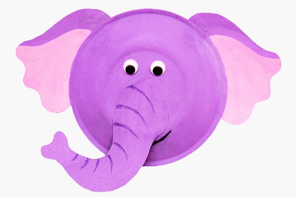 Zvířátko z papíru - Slon