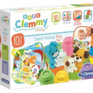 Clemmy - kostičky s knížkou - domácí zvířata