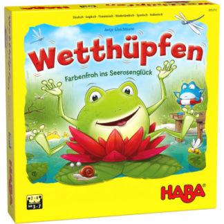Žabky a barevné lekníny