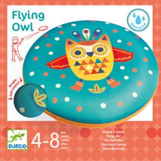 Frisbee - létající talíř - Sova