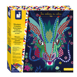 Dětský ateliér maxi - mozaika - fantastická zvířata