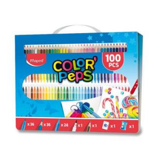 Výtvarná souprava Color'Peps Box - 100 ks