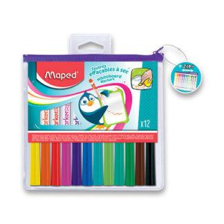Popisovač Maped WB Fun Colours - 12 barev