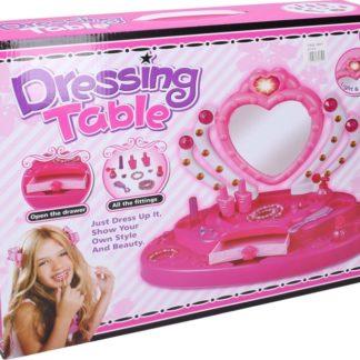 WIKY Kosmetický stolek pro holčičky s efekty
