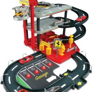 Bburago 1:43 Ferrari Race - Play garáž
