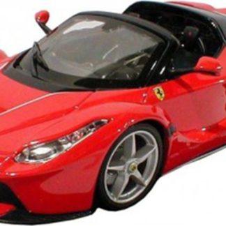 Bburago 1:24 La Ferrari Aperta červená
