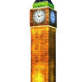 Puzzle 3D Big Ben (Noční edice) 216 dílků
