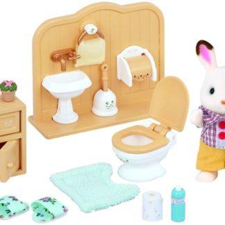 "Nábytek ""chocolate"" králíků - bratr a umývárna"