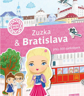 Zuzka & Bratislava - Město plné samolepek