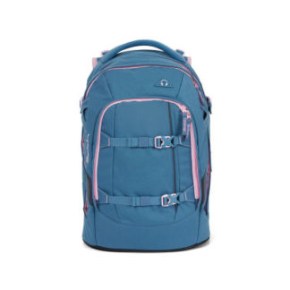 Studentský batoh Ergobag Satch - Deep Rose