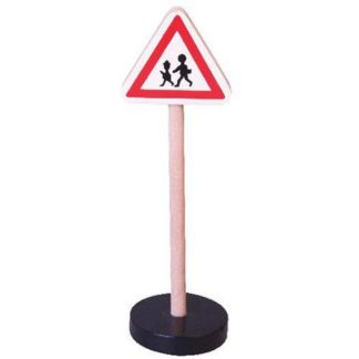 Dopravní značka dřevěná - pozor děti