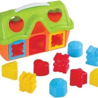 Playgo Domek vkládačka set 10 ks