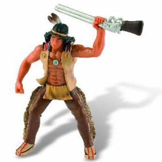 Indián s puškou