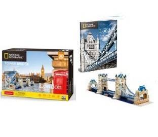 Puzzle 3D NG Tower Bridge - 120 dílků