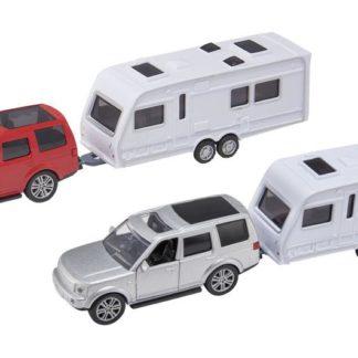 Teamsterz jeep s karavanem