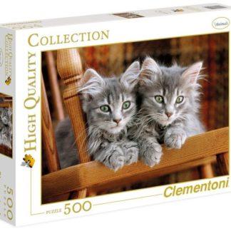Puzzle 500 dílků Koťata