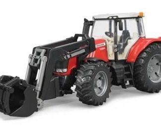 Traktor Massey + čelní nakladač