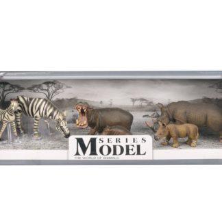 Sada Model Svět zvířat zebry