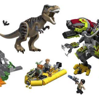 Lego Jurassic World T. Rex vs. Dinorobot