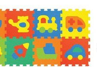 Pěnové puzzle Doprava 10 ks