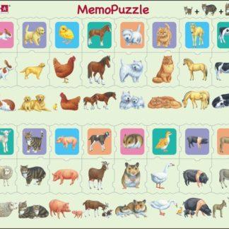 Puzzle Memo puzzle - děti