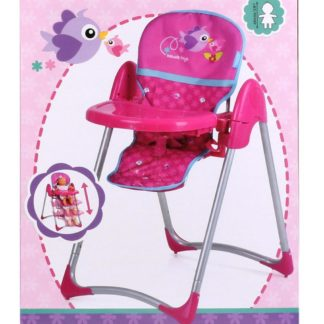 Jídelní židlička Hauck pro panenky 3v1 Birdie