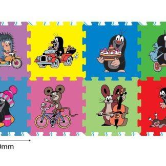 Pěnové puzzle Krtek 30x30 cm 8 dílků