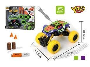Stavebnice Auto 4WD 15 ks 1:32