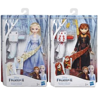 Frozen 2 Panenka Elsa/Anna se zaplétačem vlasů