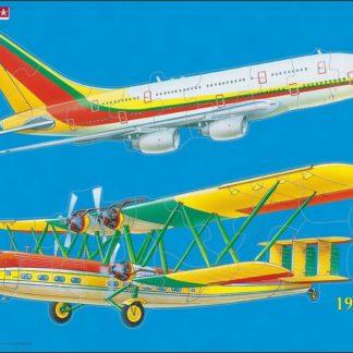 Puzzle Letecká doprava 23 dílků