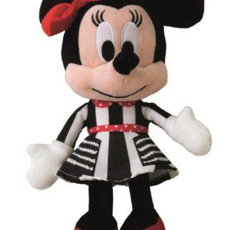 Disney plyš 25 - Minnie černobílé šaty