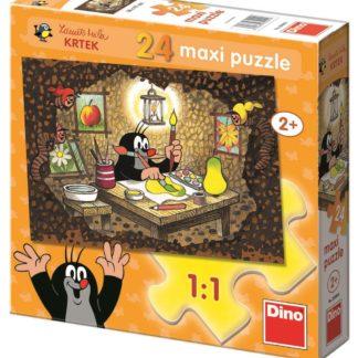 Puzzle 24 dílků floor Krteček maluje