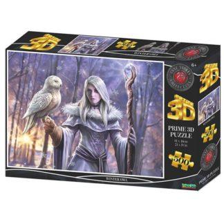 Puzzle 3D Zimní sova 500 dílků