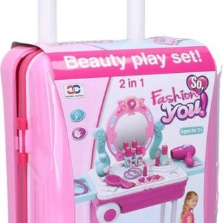 WIKY Kosmetický stolek s efekty v kufříku 60 cm