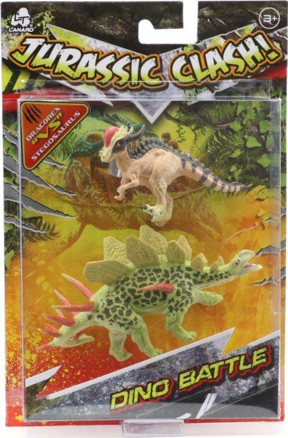 Jurassic Clash bitva dinosaurů 2 ks