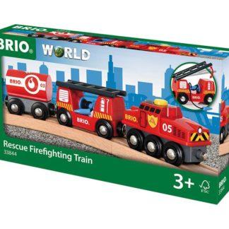 Záchranný hasičský vlak