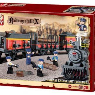 Stavebnice Nákladní vlak