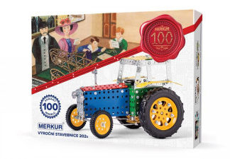 Merkur - Výroční stavebnice - 753 dílů
