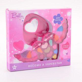 Sada malovátek Bella v srdíčku s křídly