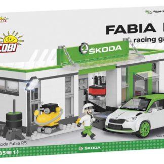Stavebnice Škoda závodní Fabia R5 s depem