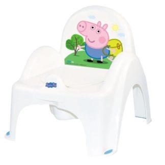 Nočník židlička Peppa Pig modrá